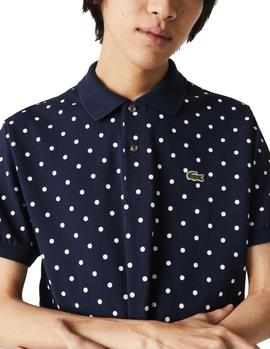 Lacoste Classic Fit Navy Men's Polo
